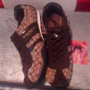 Women's Coach Sneakers sz 8.5